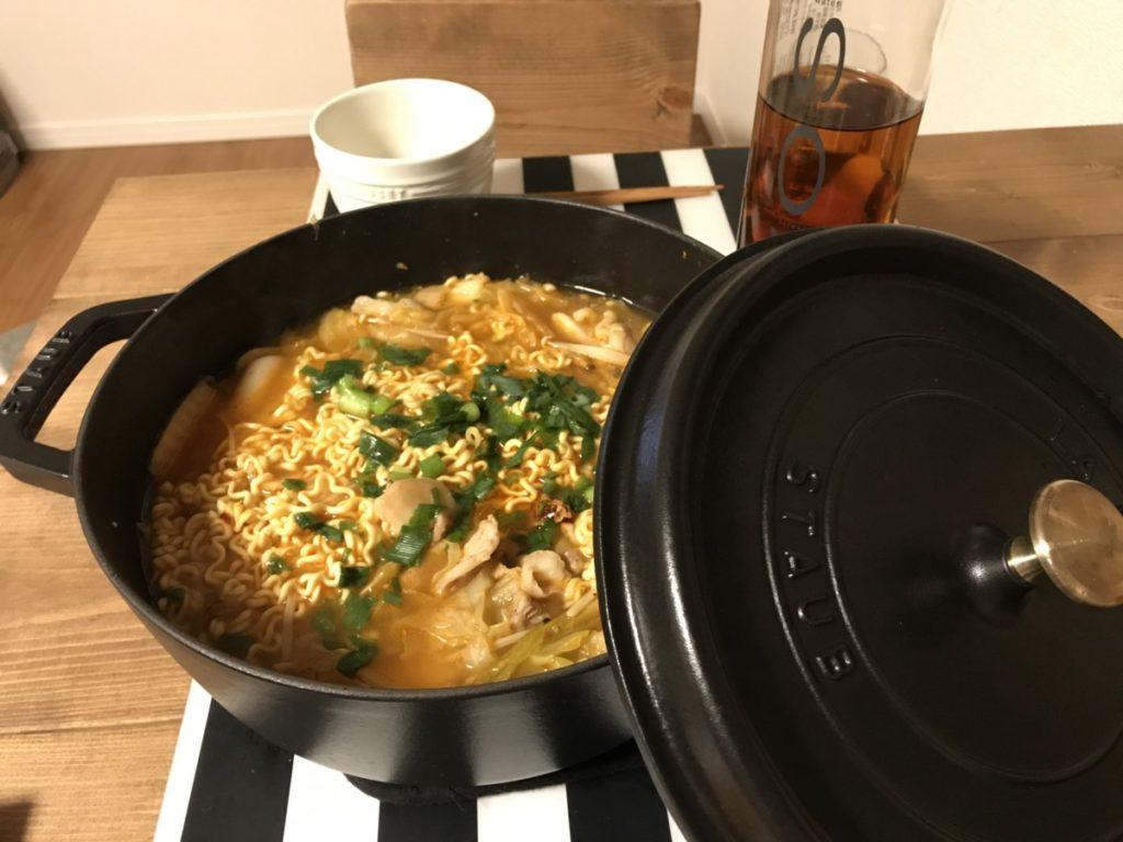 チャムケラーメン 鍋