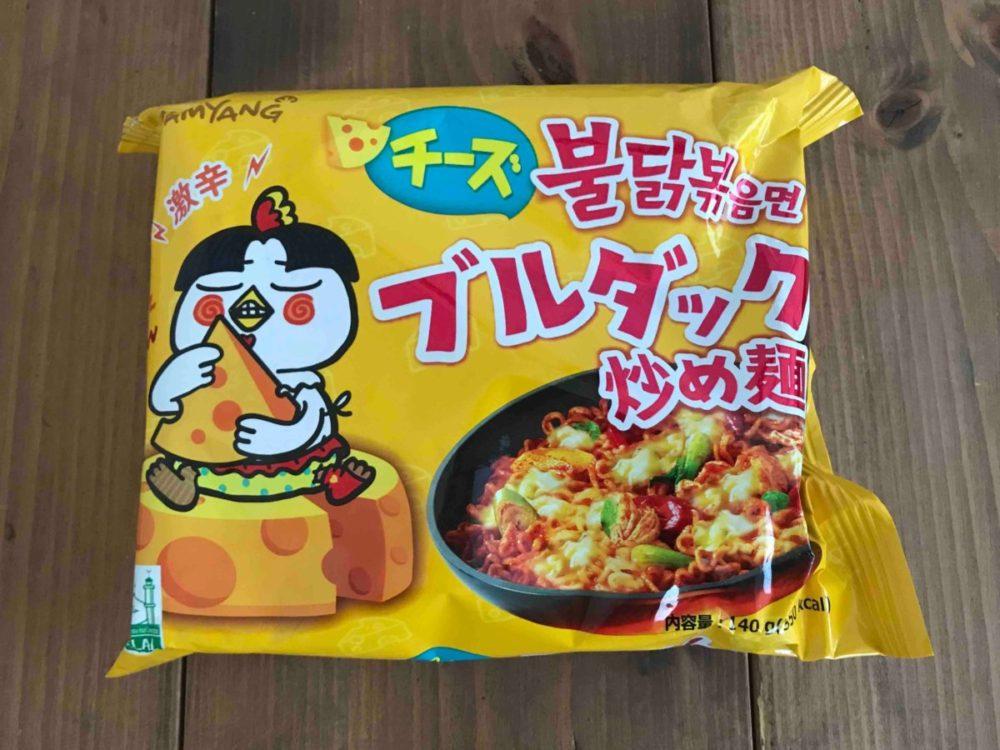 プルダック炒め麺 ラーメン