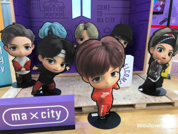 BTS POP UP STORE 大阪