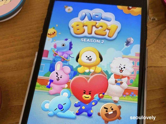 btsゲームアプリ
