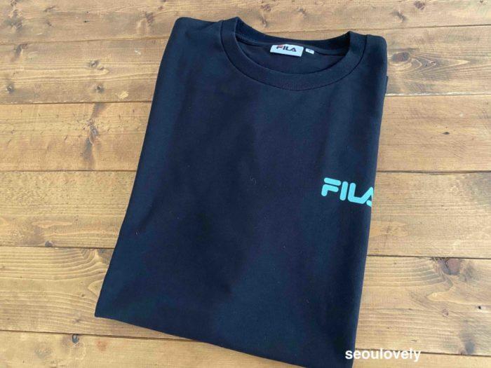 FILA BTSコラボTシャツ