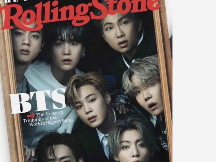 「BTS」表紙の雑誌